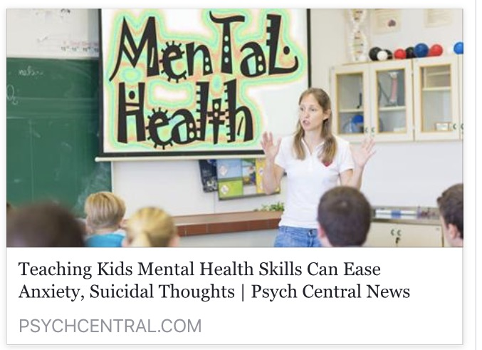 Teaching Children Early About Mental Health