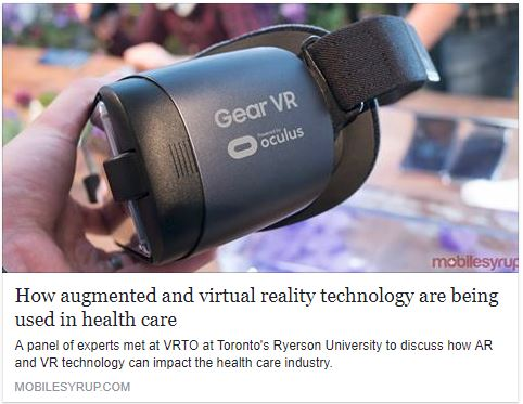 Increasing Utilization Of Virtual Reality In Healthcare