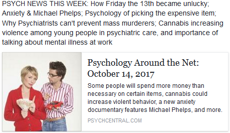 Psychology News – Week of October 14