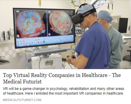 VR Companies That Are Breaking Into Healthcare